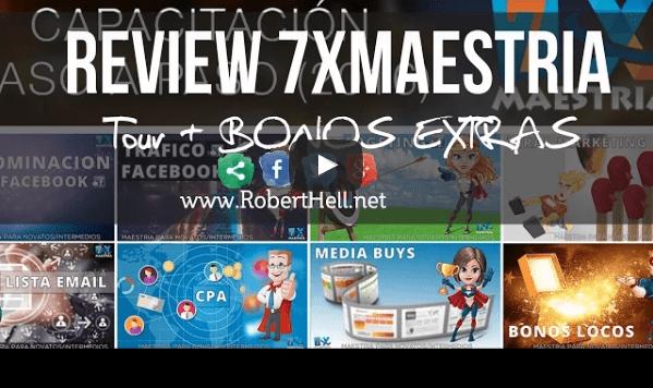 [Maestria 7 X] Bonos INIGUALABLES – REVIEW! (1)